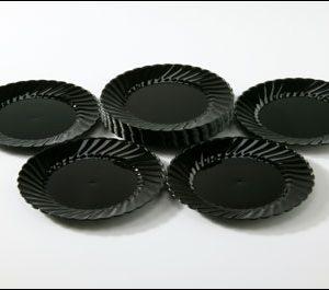 "Black 5"" Plates (20)"
