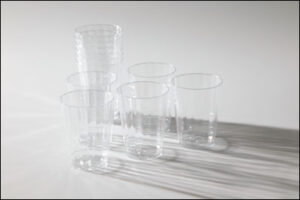 Clear Beverage Glasses (10)
