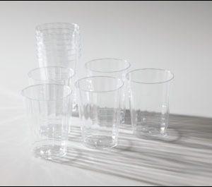 Clear Beverage Glasses (10)