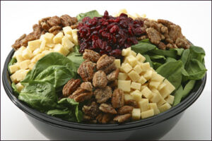 Spinach Cranberry