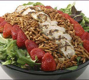 Spring Strawberry & Chicken
