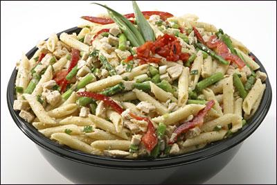 Penne Chicken & Asparagus