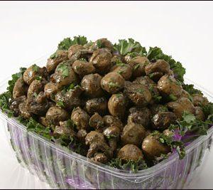 Roasted Button Mushrooms