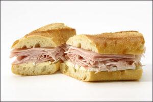 Ham & Brie $12.75