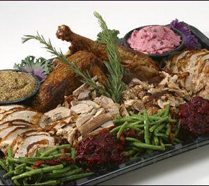 Country Turkey Platter