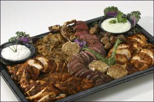 Grilled Beef Tenderloin & Country Chicken